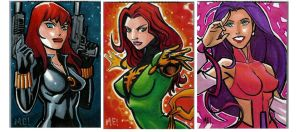 Marvel Females by MasonEasley