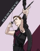Hawkeye by AlessiaPelonzi