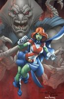 Miss Martian by Nauck by bennyfuentes