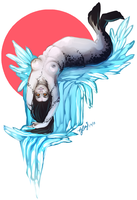 Spotted Seal by Momo-Deary
