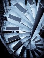 spiral stairs by MelissaRobin
