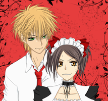 Usui and Misaki by Chank1