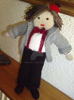 Geronimo - My Knitted Eleventh Doctor by Time-LadyO
