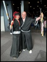 Avcon 2013-Renji and Ikkaku- Bleach by NatSilva