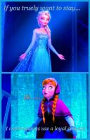 Elsa Hypnotizes Anna by HypnoVorelover