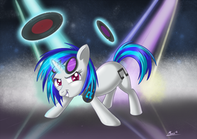 Vinyl Scratch by MoonSango