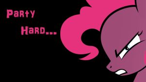 Pinkie Pie - Party Hard Wallpaper by Nerve-Gas
