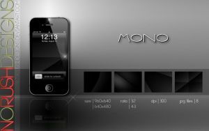 Mobile: Mono by NoRushDesigns