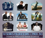TV Series - Icon Pack 30 by apollojr
