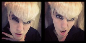 Ravi (VIXX) - Hyde Makeup and Wig Test by fadingforest