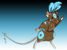 Shaman Mouse by CatsCowCow