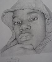 My Portrait Drawings by AnthonyAKABenny