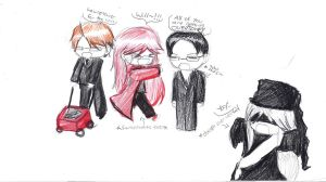 Shinigami chibi Group by Arorea