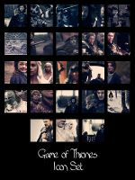 Game of Thrones Icon Pack by Firlachiel