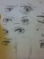 Anime eyes part 1 by MattnMello