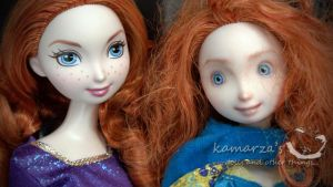 merida vs merida repaint by kamarza