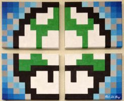 1 up 4 canvas by MGPerez