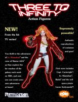 Three to Infinity - Shanahan Action Figure Ad by BrentJS