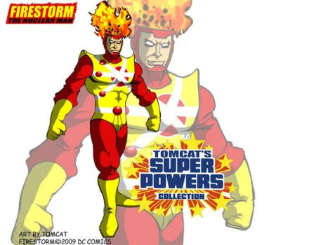 Firestorm The Nuclear Man by tomcat13