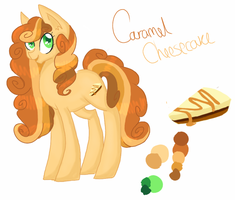 Caramel Cheesecake Ref by CitrusSkittles