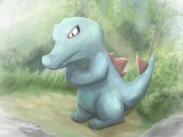Totodile by Boshy00