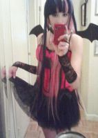 Demon Stocking cosplay WIP by Arorea