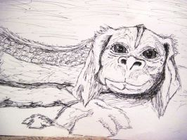 Falcor the Luck Dragon by JessKristen