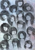 anime or manga hair styles 2 by VillainAurora