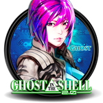 Ghost in the Shell Circle Icon by Knives by knives1024