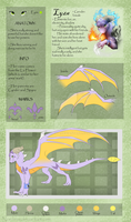Lyza - ref sheet by Nordeva