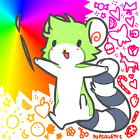 love colour by drill-tail