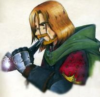 Boromir of Gondor I by samuka