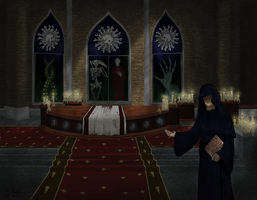 Welcome to Oublie Cathedral by Amazonne