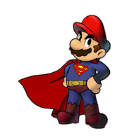 Super Mario - The Plumber of Steel by Petertwnsnd
