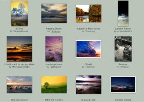 Submissions -October- November by Scapes-club