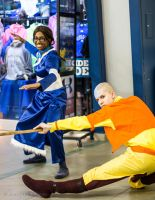 Avatar: The Last Airbender ~ Aang x Katara by JUNeProductions
