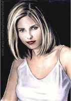 Sarah Michelle Gellar mini-portrait by whu-wei