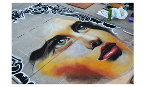 Street Painting WIP by NeverLookBackk