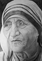 Mother Teresa by Joel-Wade