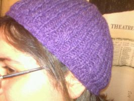 Purple Beanie by ifihadacoconut