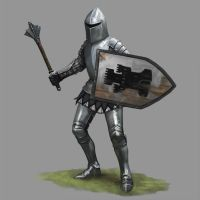 Defender Knight by Seraph777