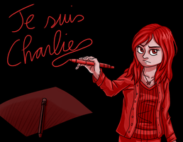 Je Suis Charlie by CartoonSilverFox