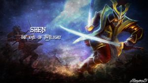 LoL - Warlord Shen Wallpaper ~xRazerxD by xRazerxD