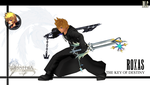Roxas - The key of destiny by 2PlayerWins