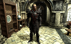 Ralof in Daedric Armour by Mediziner