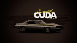 Plymouth Cuda Vector by depot-hdm