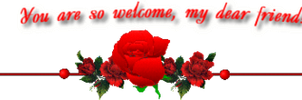 You Are So Welcome Roseborder Welcome By Sugaree33 by anne1956