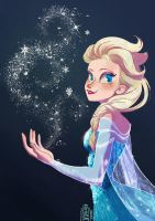 Elsa thanks you by SuperOotoro