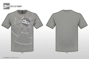 T-Shirt Design Gray by BevzXis10