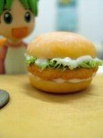 Miniature Chicken Sandwich by Snowfern